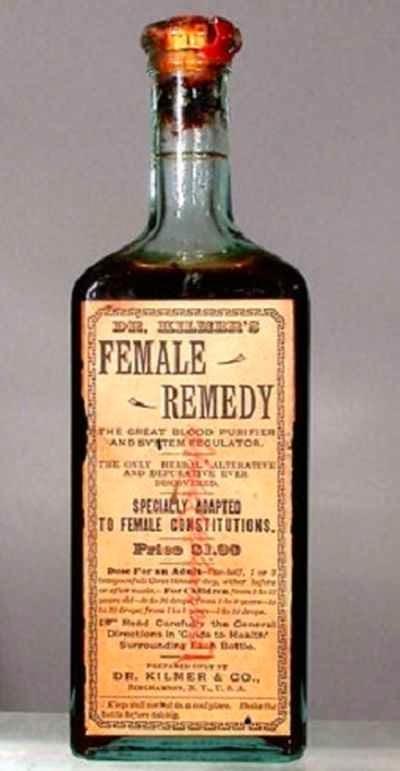 La práctica de la medicina hace unos años