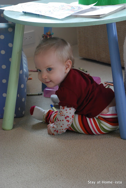 crawling baby means I need a baby gate