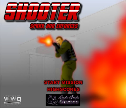 Game Online Shooter Spark and Enforces