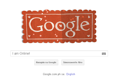 Valentine's Day Google Animation Doodle!