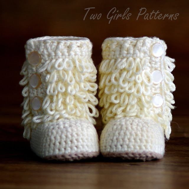 Crocheted Boots Pattern6