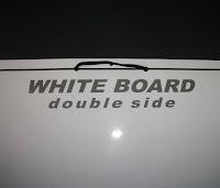 White Board Double Side