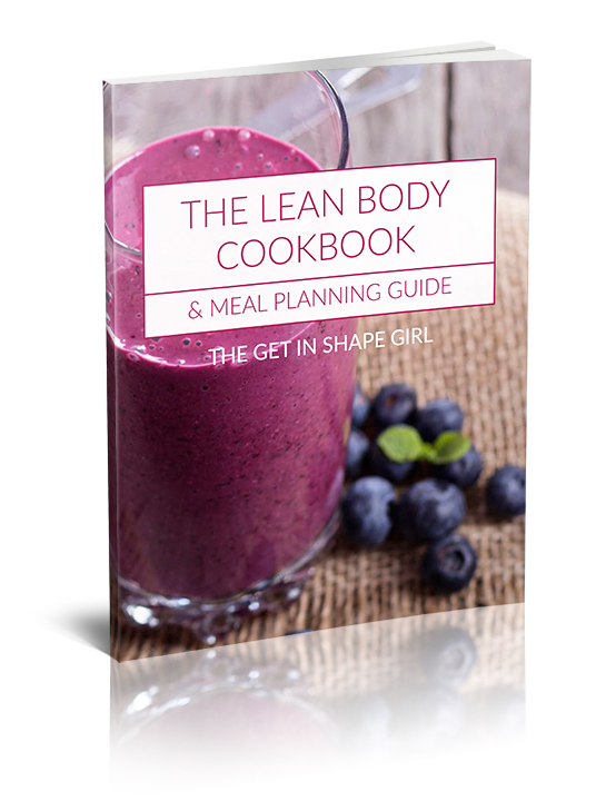 The Lean Body Cookbook & Meal Planning Guide