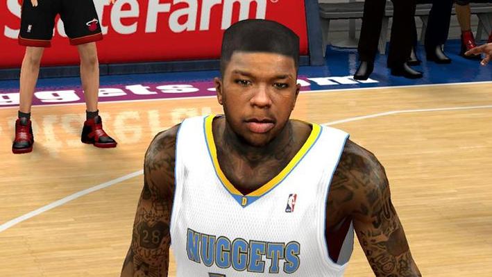 NBA 2K14 Nate Robinson Face Mod
