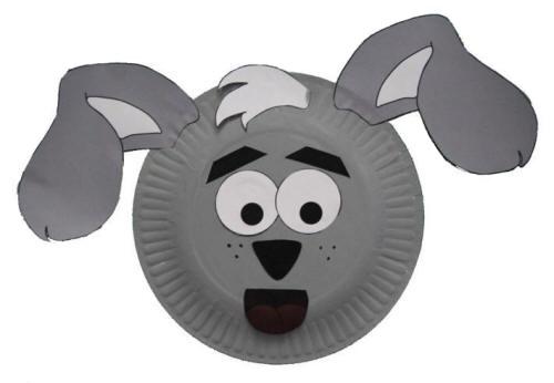 Como hacer una mascara de perro con foami - Imagui