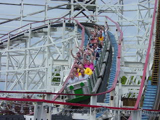 Thunderbolt at Kennywood in Pittsburgh Pennsylvania