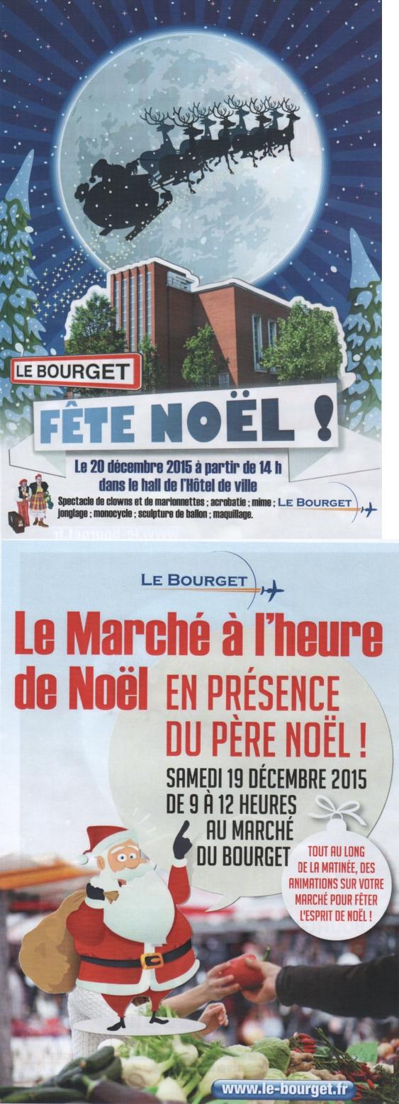 Le Bourget fête Noël Dimanche 20 décembre à 14h00 à l'Hôtel de Ville du Bourget
