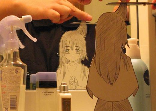 Figuras Anime en papel. 281759_10150262340224819_213182229818_7273984_2278832_n