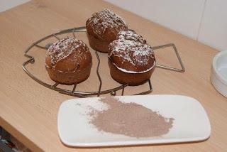 Magdalenas Clásicas de Chocolate