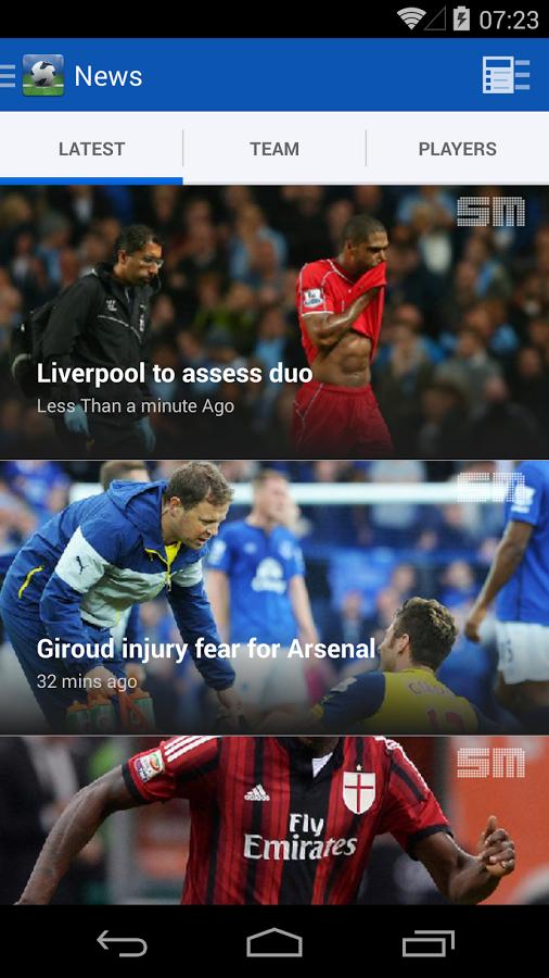 Hasil dan Jadwal pertandingan sepak bola