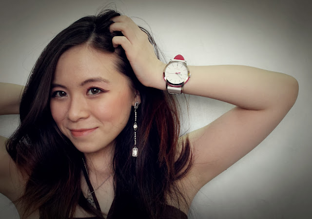 girl and watch