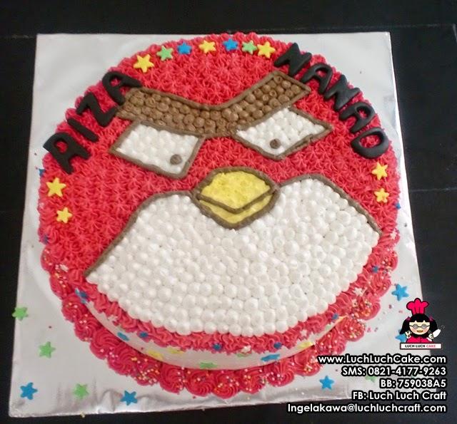 Kue Tart Angry Bird Star