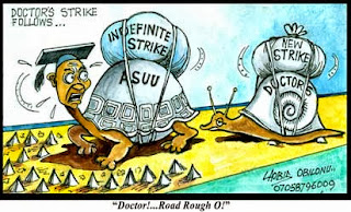 ASUU Strike: Stand Up For Your Right ~ Omosexy (Omotola Jolade) To Nigerian Students, Berates FG