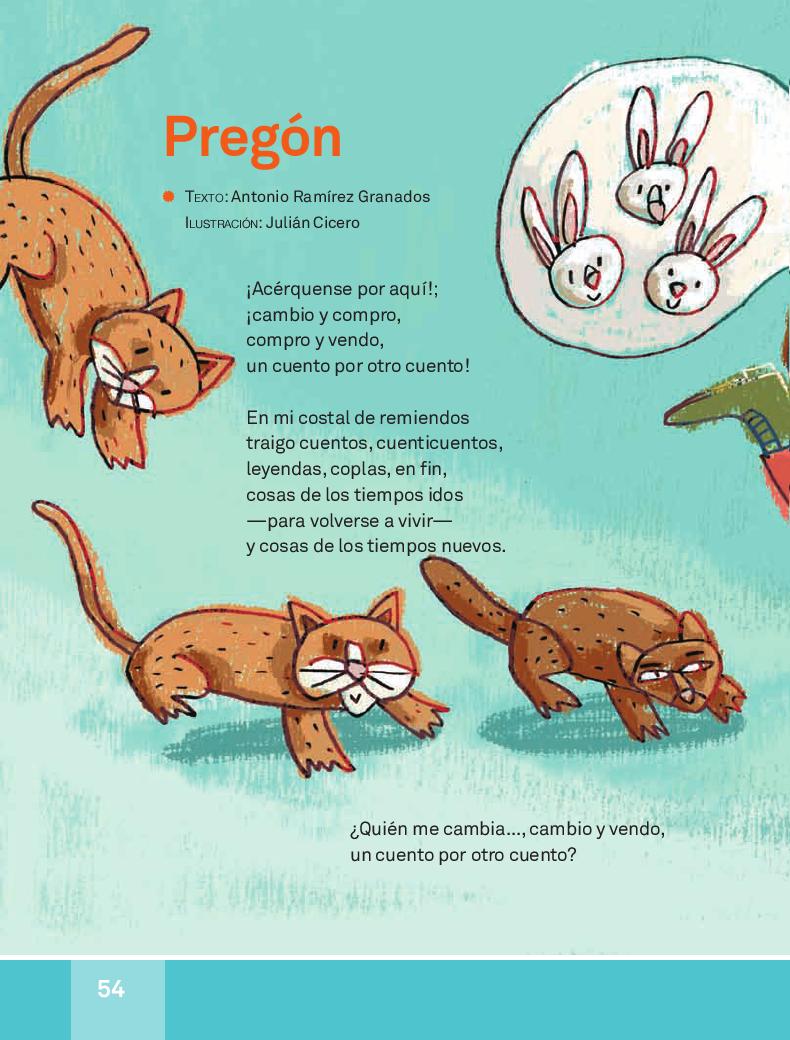 Pregón - Español Lecturas 3ro 2014-2015