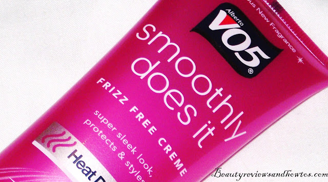 VO5 Smoothly Does It Frizz Free Smoothing Cream Review