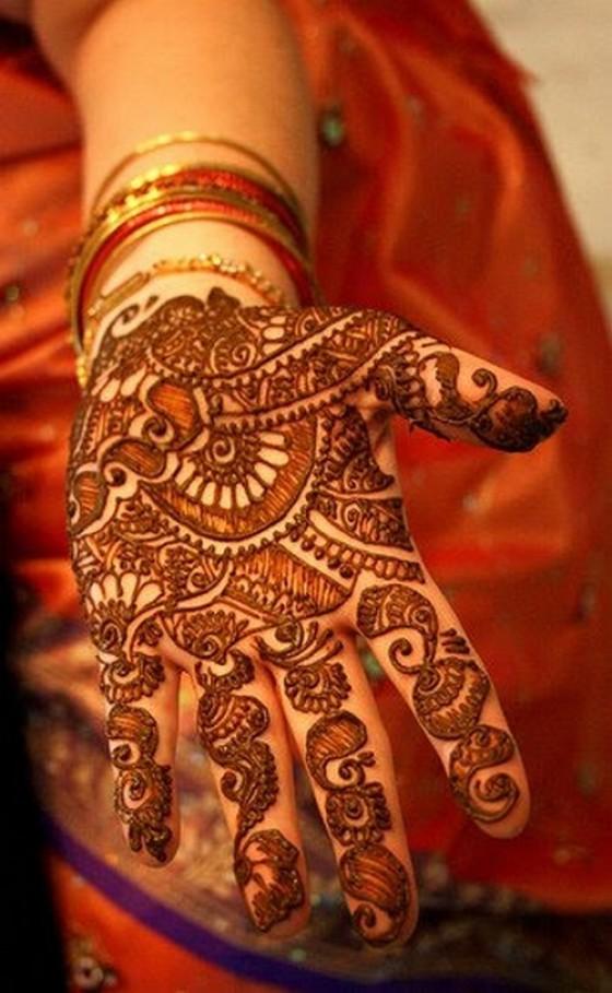 Mehndi Designs Dulhan : Arabic dulhan mehndi designs celebrity tattoos