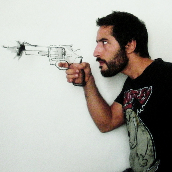 portrait de l'artiste David oliveira