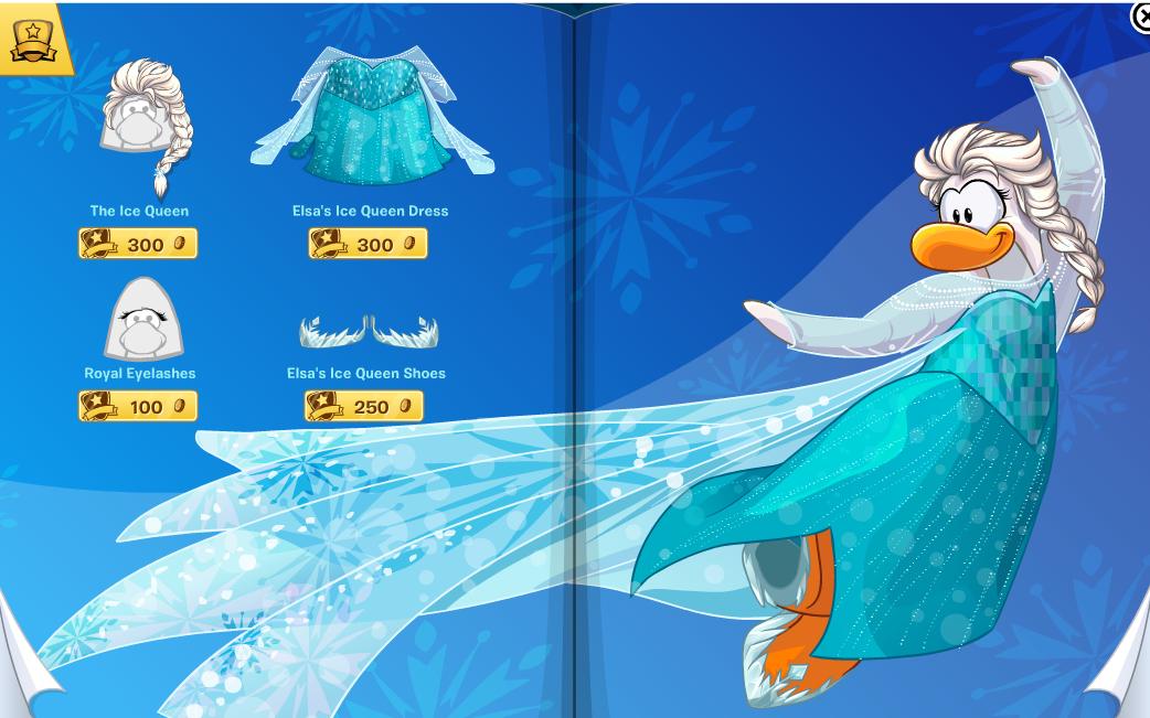 Club Penguin Frozen Pa...