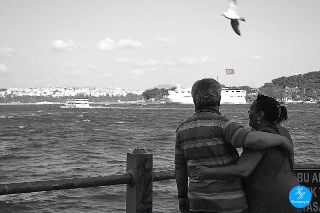 Galata Bridge's Couple - Y&Y Photography