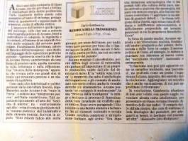 La recensione di Alessandro Litta Modignani
