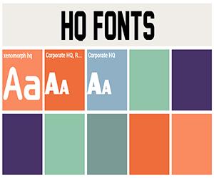 HQ Fonts