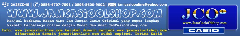 Jual Jam Tangan Casio Original | Daftar Harga Jam Tangan Casio G-Shock Edifice Baby-G Analog Digital