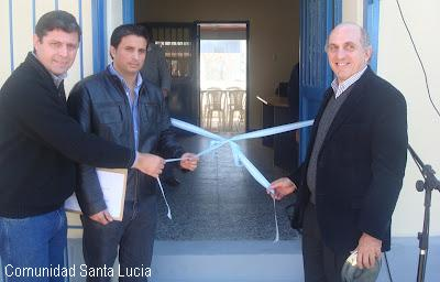 Inauguraron oficina de la asociaci n r o santa luc a lavalle noticias - Oficinas santa lucia madrid ...