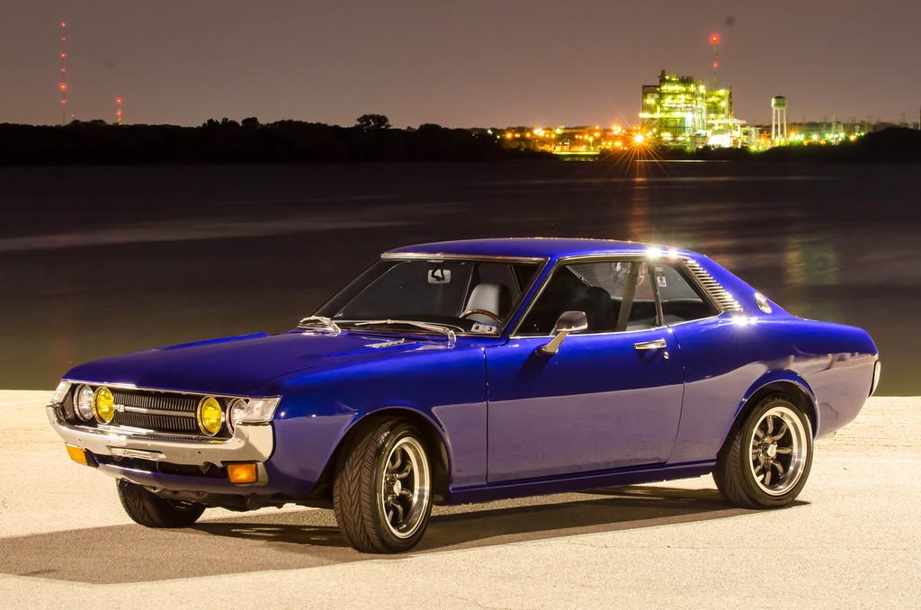 fotki japońskich samochodów, Toyota Celica, klasyk, jdm, I, szybkie, tylnonapędowe, coupe