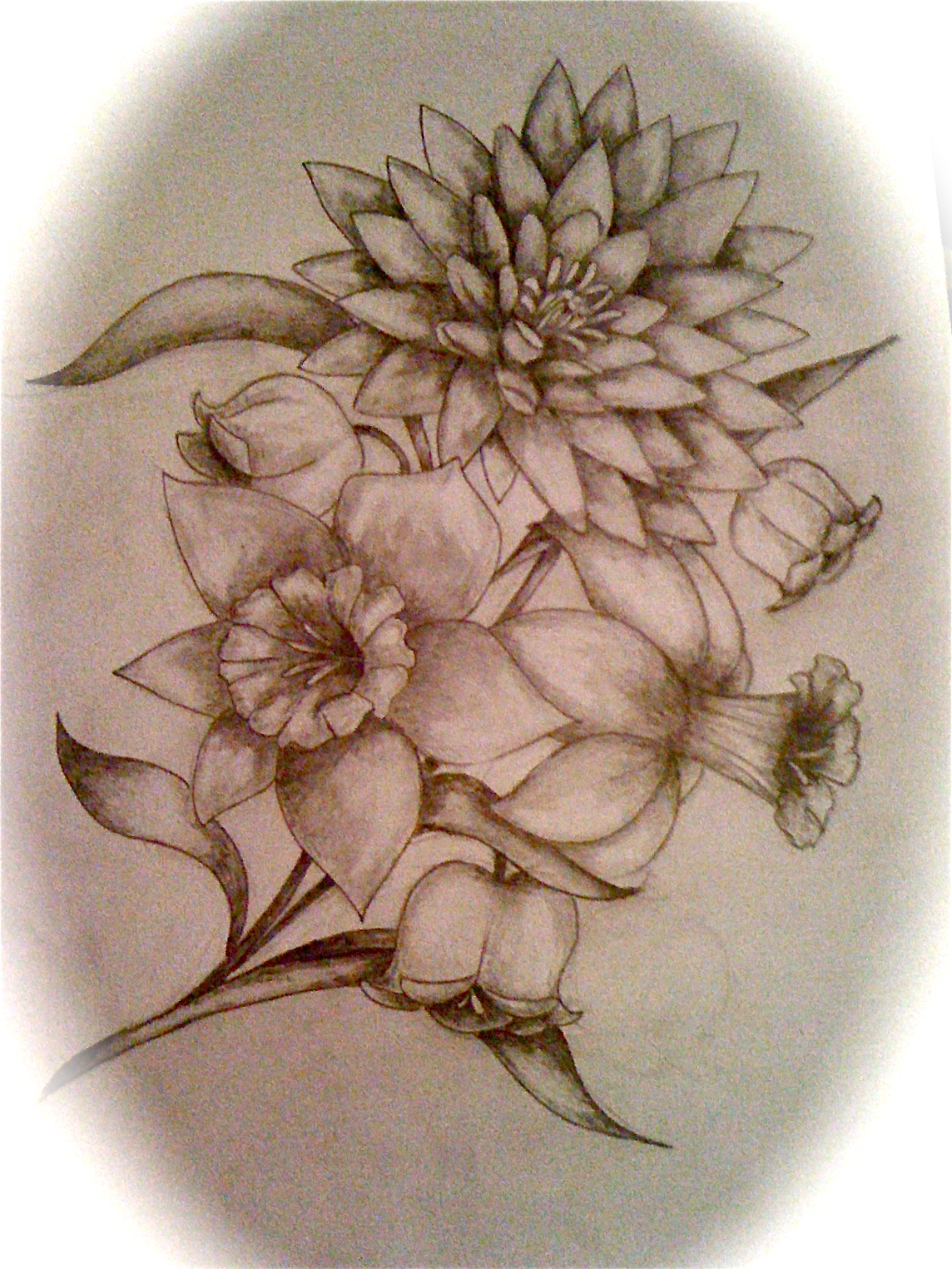 100 july flower tattoo tattoo of flowers u2013 blackwork flora flower u2013 addflash org. Black Bedroom Furniture Sets. Home Design Ideas