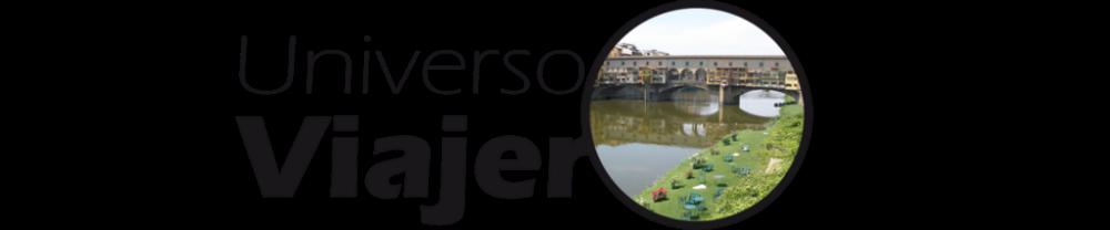 Logo Universo Viajero, donde puedes encontrar Guías de Viaje, Lugares con Encanto y Consejos para Viajar