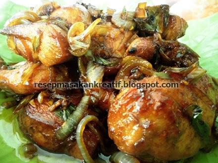 Cara Membuat Ayam Goreng Mentega