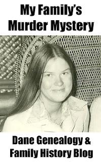 Sarah Lucy Dane Murder Mystery, My Family's Murder Mystery