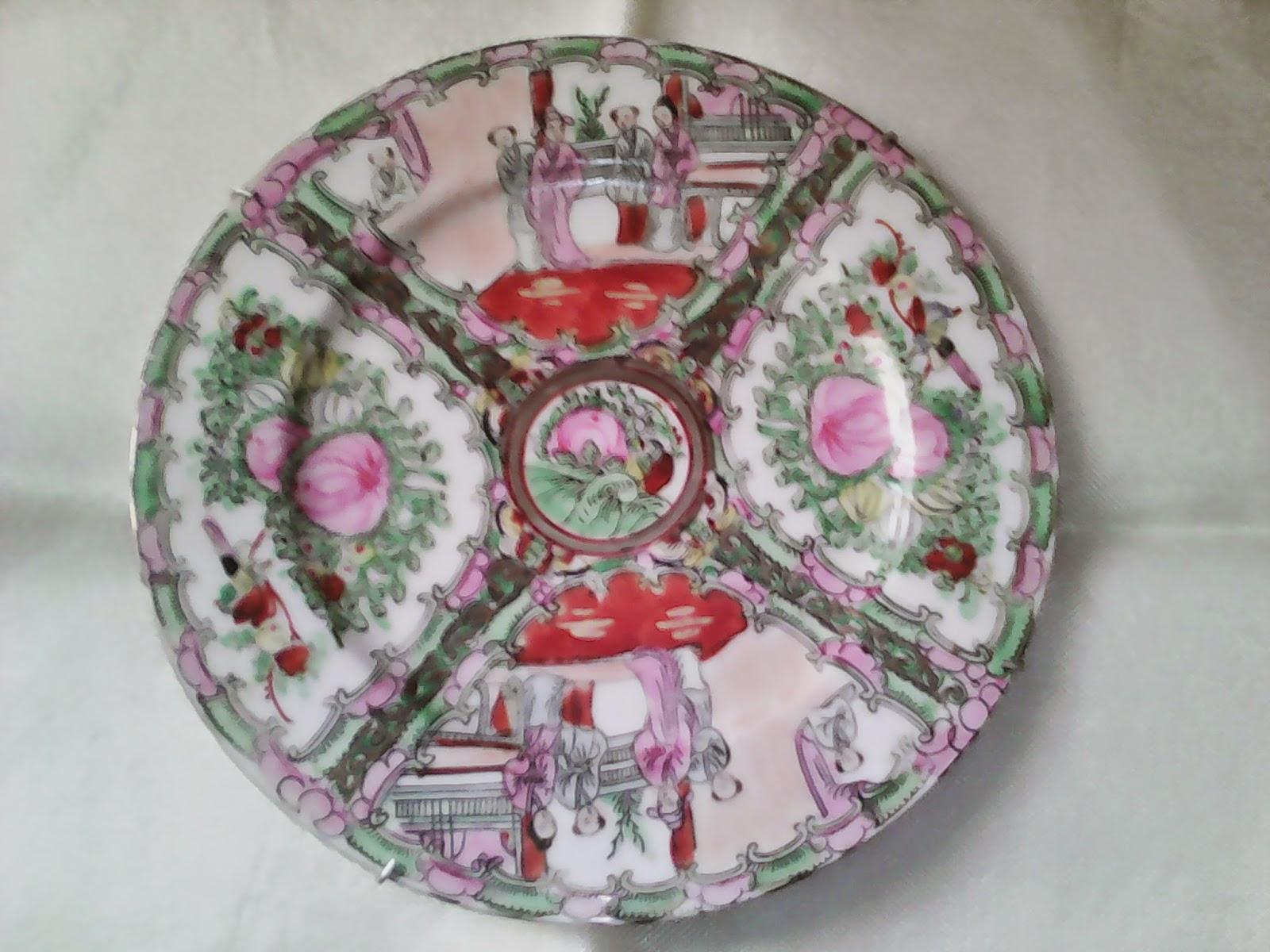 O desv n vintage do pereiro platos decorativos - Desvan vintage ...