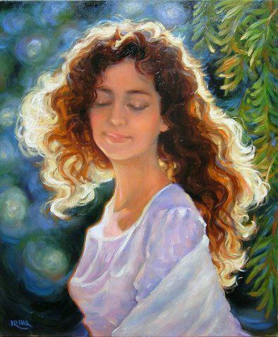 Irina Vitalievna Karkabi 1960 | Ukrainian Figurative painter