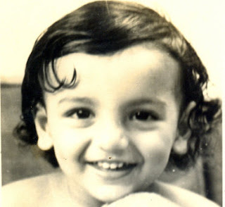 Childhood pictures of bollywood stars John Abraham