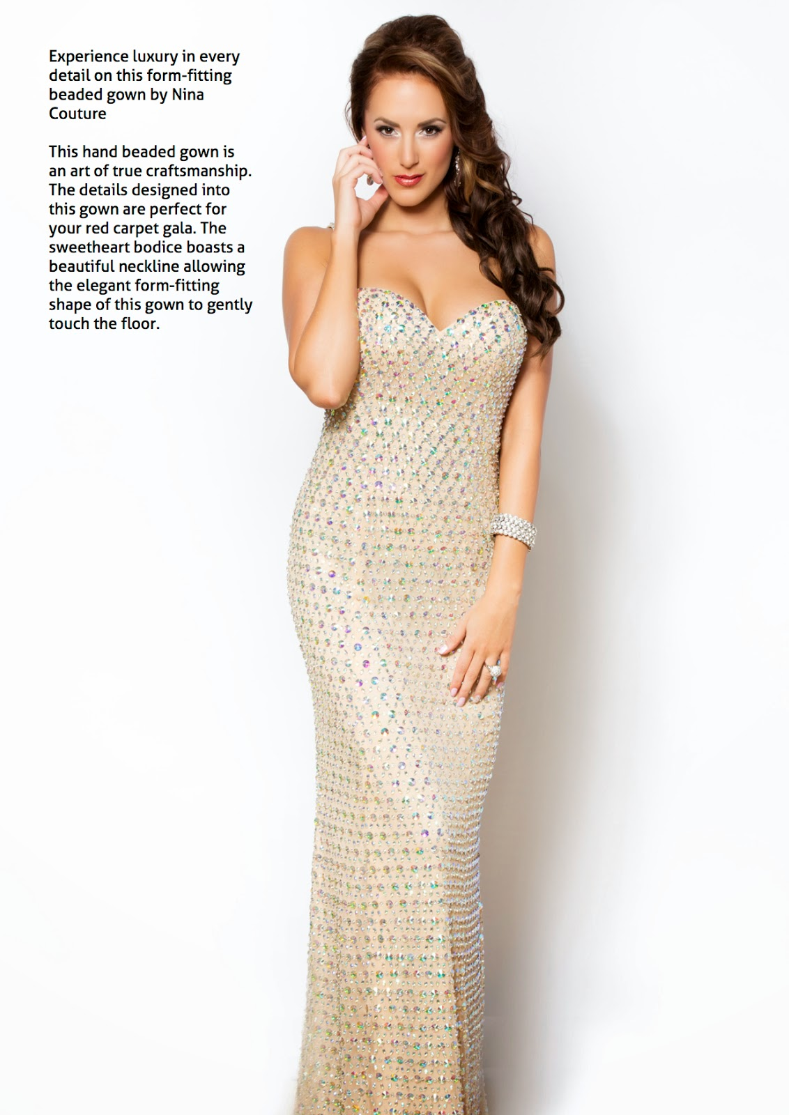 NINA COUTURE Luxury Fashion Dresses for Prom Wedding and