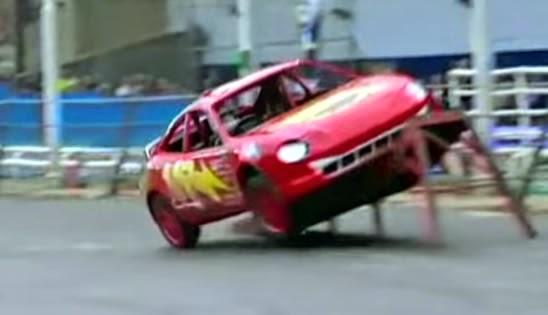 Rolling Car - United Kingdom