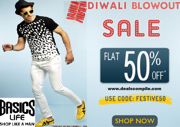 Basics Life 50% Off - Diwali Blowout Sale