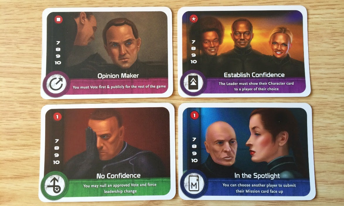 The Resistance board game review cards