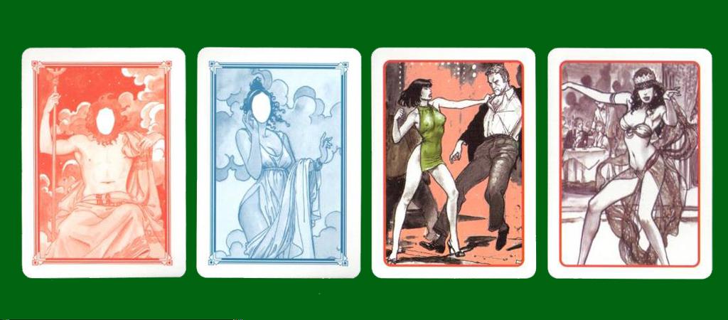 Lo Scarabeo The Art Of Milo Manara Playing Cards