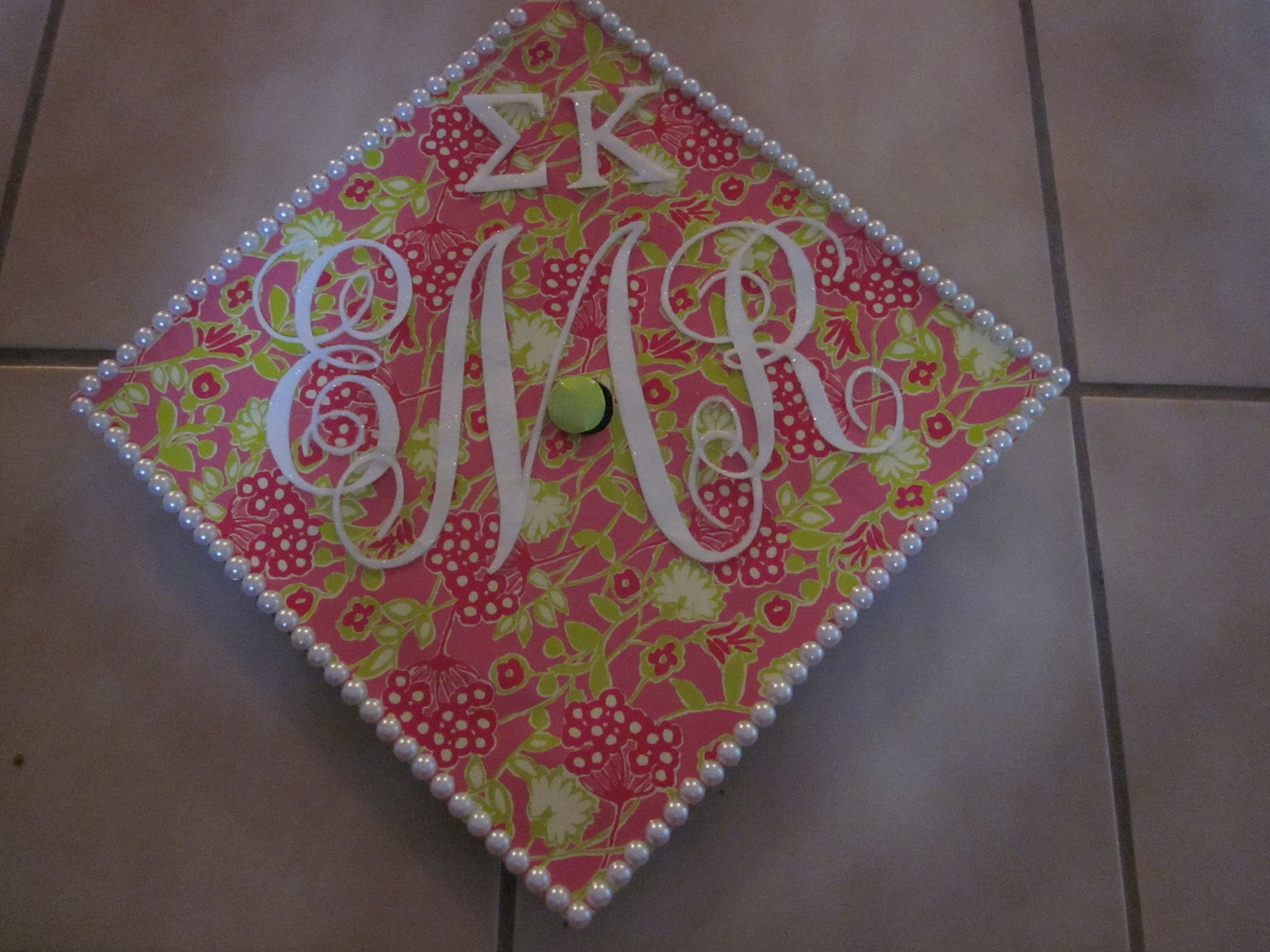 Emily Ruth Decorated Graduation Cap
