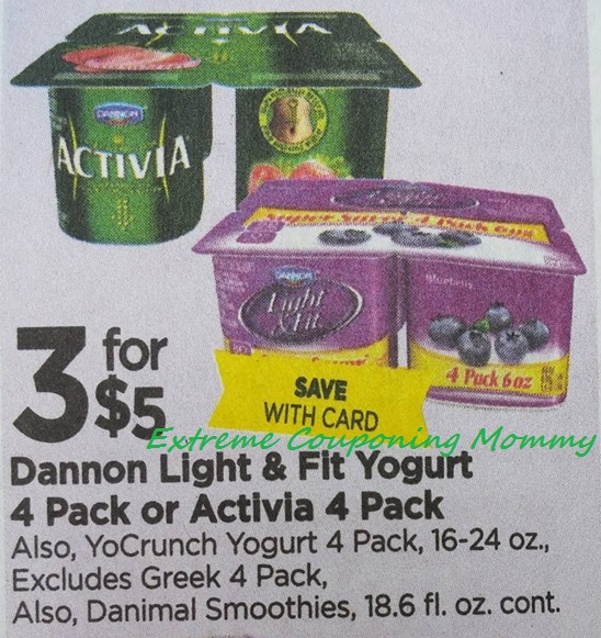 Dannon light and fit yogurt coupons 2018