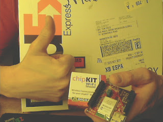 ChipKIT wifi shield