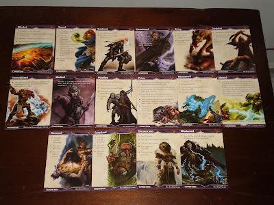 Cards de Condição