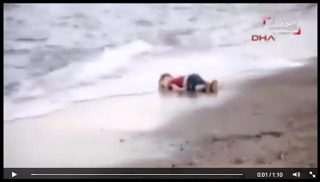 Το τρομακτικό βίντεο με τον 3χρονο Aylan Kurdi, γροθιά στο στομάχι της σύγχρονης ανθρωπότητας! Πώς να μην κλάψεις...