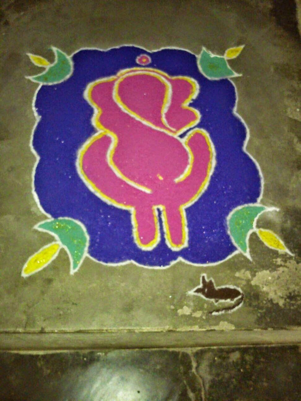 Rangoli Designs for Kids 1. 25  Easy and Creative Rangoli Designs for Kids with Visuals