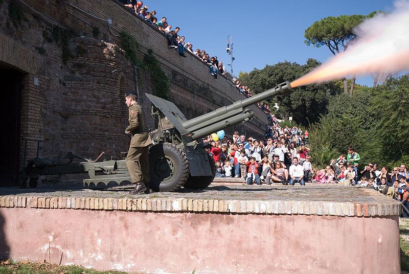 Il Gianicolo a mezzogiorno: visite guidate Roma: 07/04/2013