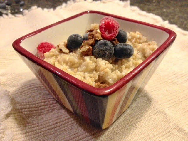 Overnight Steel Cut Oats