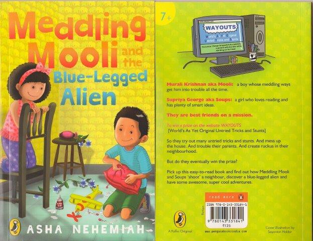 Meddling Kids Book Cover ~ Mulled ink children s books meddling mooli and the blue