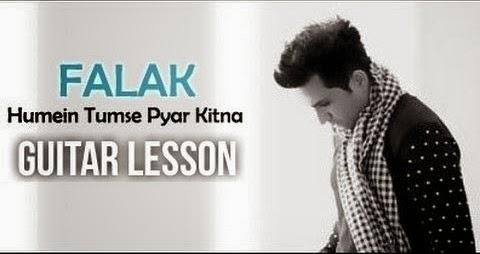 Hamein Tumse Pyaar Kitna Guitar Unplugged Chords - Falak Shabir, Kishore Kumar